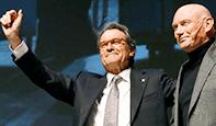 Foto de El nacionalismo vascose vuelca con Mas al grito de visca Catalunya